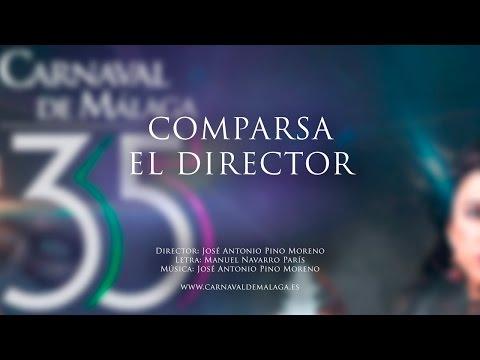 """Carnaval de Málaga 2015 - Comparsa """"El director"""" Semifinales"""