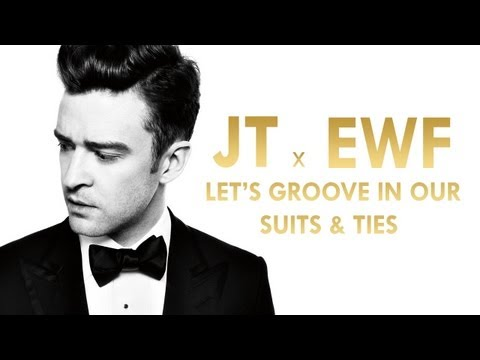 Justin Timberlake, Earth Wind & Fire – Let's Groove In Our Suits & Ties (Mashup)