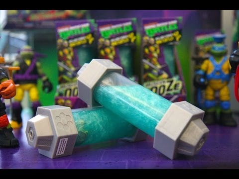 Nickelodeon's Teenage Mutant Ninja Turtles Mutagen Ooze With Mini Turtles Toy Review