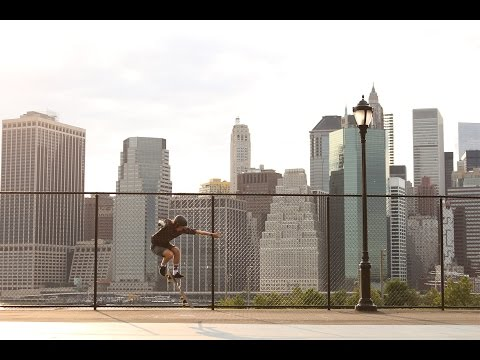 Arbiter DK Longboard Skateboard in New York City