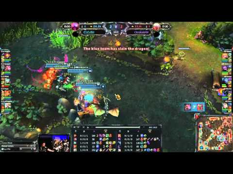 Round 1 Group B : CLG.eu vs OCW - LoL ECC: Poland, Warsaw 28-29.07.2012