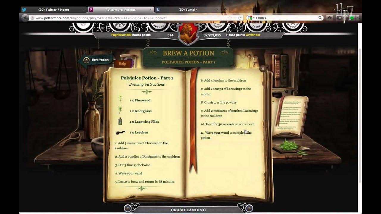 polyjuice potion essay contest