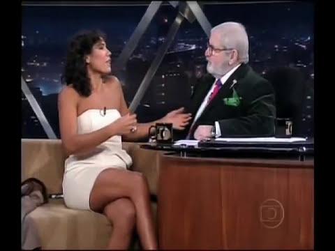 Comediante Dadá Coelho no programa do Jô - Paunumcessa 2