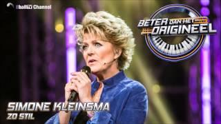 Simone Kleinsma - Zo Stil (Officiële Audio van Beter Dan Het Origineel)