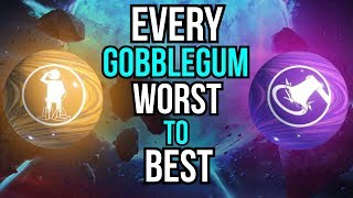 EVERY GOBBLEGUM RANKED WORST TO BEST (COD ZOMBIES)