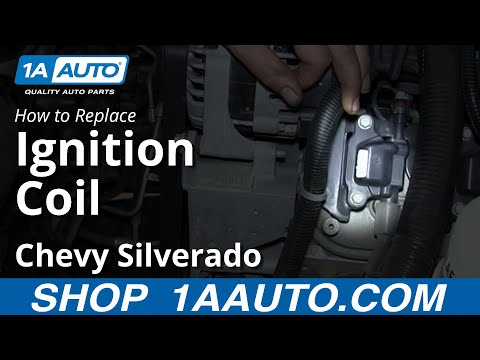 How To Install Replace Engine Ignition Coil 2007-13 Chevy Silverado GMC Sierra