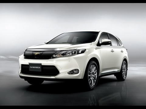 2014 Toyota Harrier Startup and Review