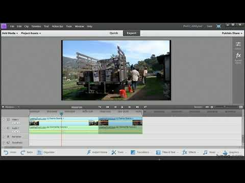 Premiere Elements tutorial: Adding clips, slice, trim, and ripple edits | lynda.com