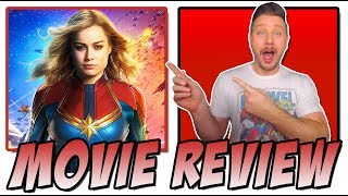 Captain Marvel (2019) -  Movie Review (Spoiler Free)