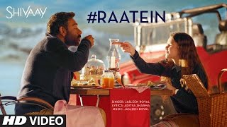 Raatein Audio Song Shivaay Jasleen Royal Ajay Devgn T Series