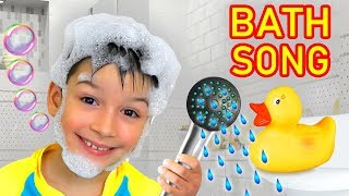 Bath Song Nursery Rhymes song for Kids from Smile Toys Review