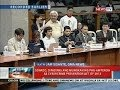 NTVL: Senado, dininig ang mungkahing pag-amyenda sa Cybercrime prevention Act of 2012