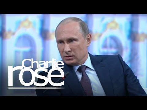 Putin: 'Only the Syrian People' Can Remove Assad (June 19, 2015) | Charlie Rose