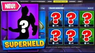 HEUTE IM SHOP: NEUER *SUPERHELD* SKIN | Fortnite DAILY SHOP (20.5) 🛒 | Fortnite Shop