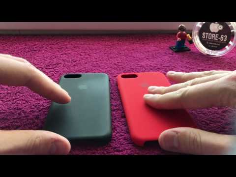 iPhone 7 Silicone Case - оригинал и копия. Как отличить?