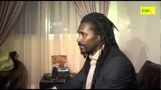 Rencontre Ministre des Sports et Aliou Cissé