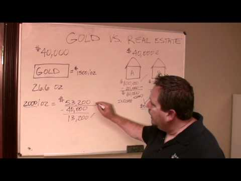 Why Real Estate Investing is Better than Gold - Investors Workshops