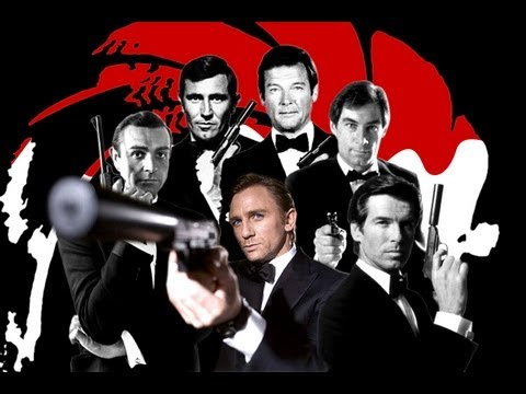 A compilation of trailers of all the James Bond productions in chronological order. From the original broadcast of Casino Royale to the latest: Skyfall. Bond trailers have always been unique...