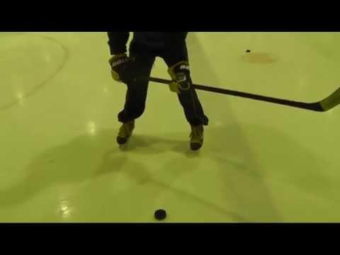 Хоккейный бросок щелчок