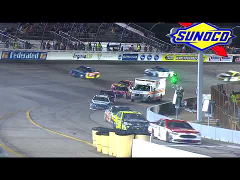 Pit-road incident leads to damaged cars