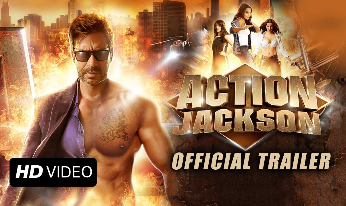 Action Jackson Official Trailer | Ajay Devgn, Sonakshi Sinha, Yami ...