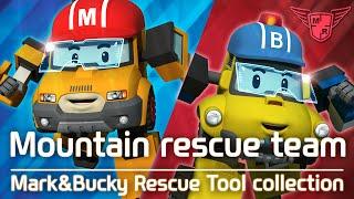 MARK&BUCKY Rescue tool Collection | #Mountain rescue team | Robocar POLI