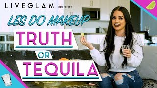 Les Do Makeup Plays Truth or Tequila | LiveGlam