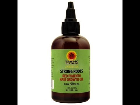 Product Review: Tropic Isle Living Strong roots Red Pimento Hair Growth Oil