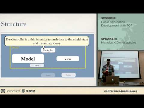 Rapid application development with FOF - Nicholas K Dionysopoulos