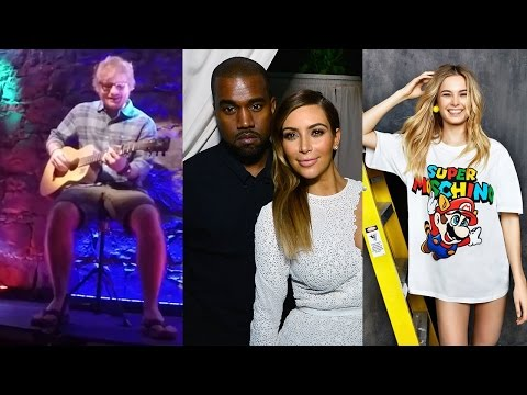 Ed Sheeran Pranks Fans, Baby Saint West & Jeremy Scott Nintendo Line!