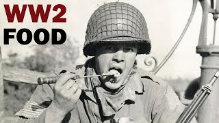 What Did WW2 Soldiers Eat | US Military Food Rations | Documentary | ca. 1943