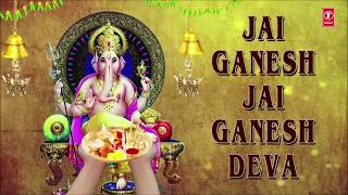 Download Ganesh Aarti, JAI GANESH DEVA by Anuradha Paudwal with Hindi, English LyricsI I Full Video Song 3Gp Mp4