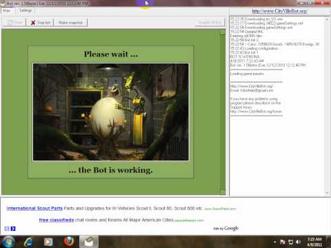 how to use cityville bot in windows 7.wmv