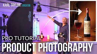 Product photography tutorial. Learn photography & professional studio photography techniques.