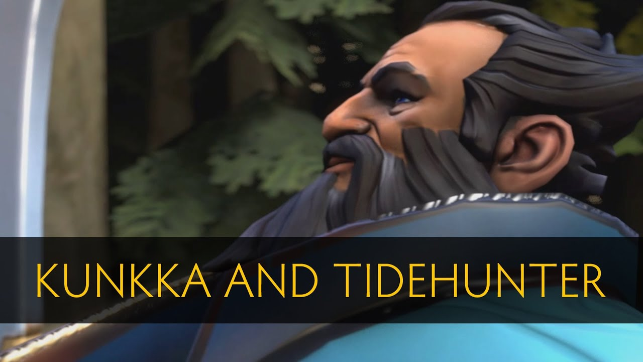 Tidehunter Dota 2 Item Build Dota 2 Kunkka And Tidehunter