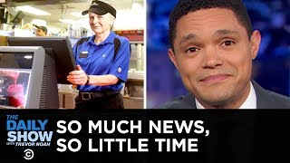 McDonald's AARP Initiative, Bumble Safety Feature & Tech-Savvy Chimp | The Daily Show