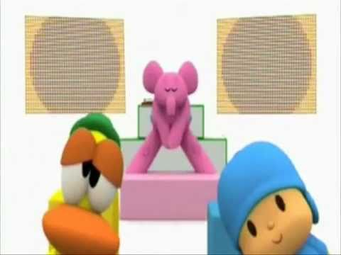 Pocoyo Bailando ((the Time)) Black Eyed Peas video