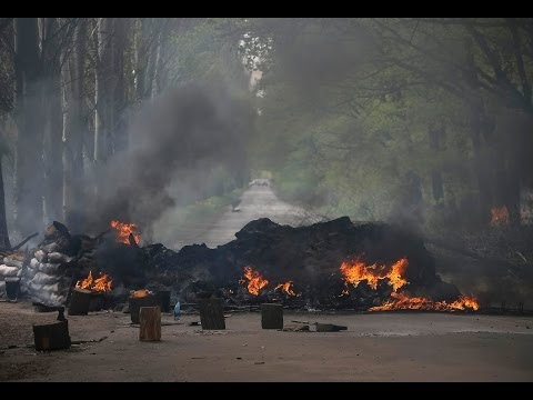 Slaviansk on Fire as Ukraine Forces Kill Five Rebels