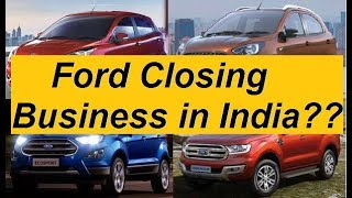 Is Ford to Discontinue Business from Indian Market ?? Nop as Ford forming JV with Mahindra