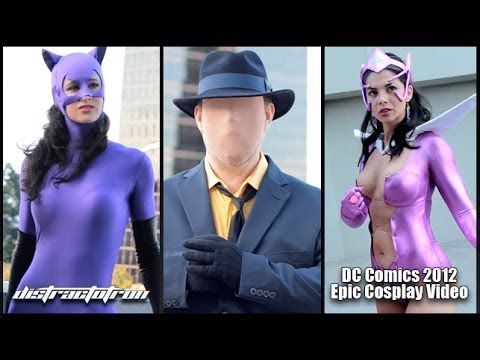 Épica reunión de cosplayers, esta vez de personajes de DC Comics