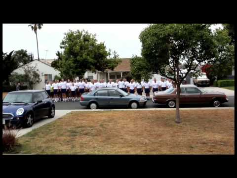 Fiona's Birthday Surprise LAPD Sing happy Birthday Video