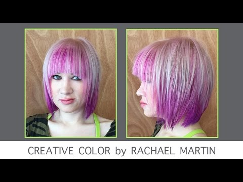 Creative Hair Color: Pretty In Pinks