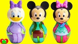 Mickey Mouse Clubhouse Friends and Minnie Mouse Slime Surprise Wrong Head