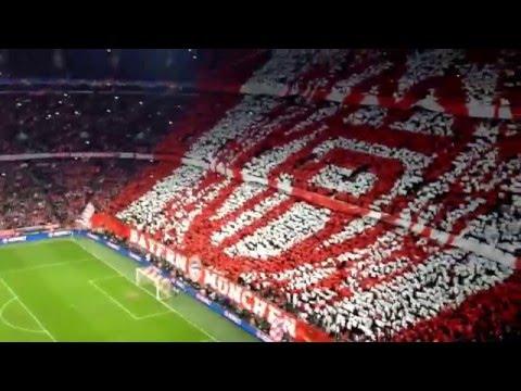 FC Bayern - Atlético Madrid - Einlaufen der Teams