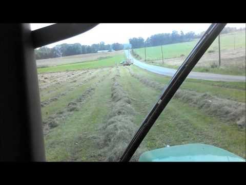 6715 Raking Hay