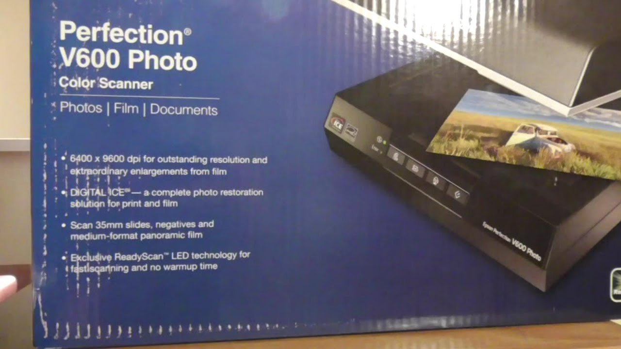 Flatbed photo scanner review