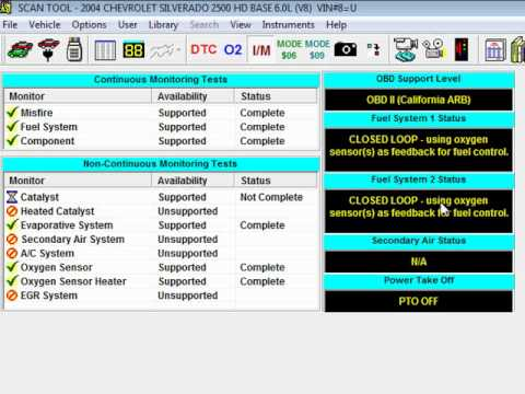 OBD2 Automotive PC Scan Tool Demo