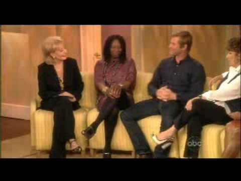 Aaron Eckhart on The view 9-23-2008