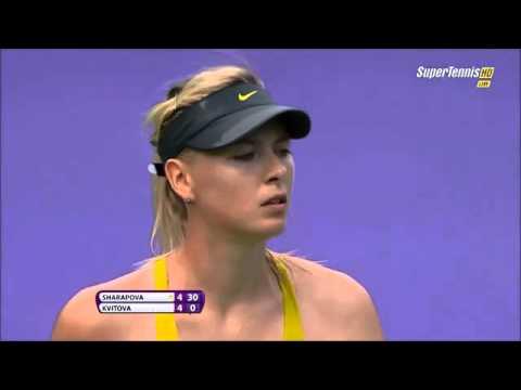 Maria Sharapova vs Petra Kvitova 2014 Sony Open Tennis