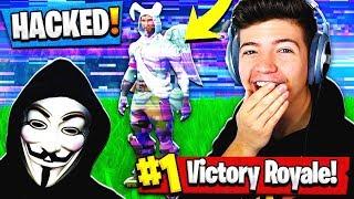 I hacked a youtubers fortnite account...